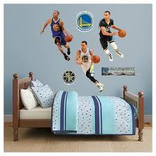 Nba Golden State Warriors Stephen Curry All Jersey Fathead Wall Decal Set Target