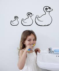 Vinyl Wall Decal Sticker Rubber Duckies Os Mb323 Stickerbrand