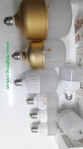 Bóng LED Bulb Kín Nước -Nhôm vàng 40W