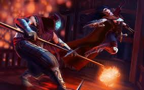 jax and vayne fighting league of