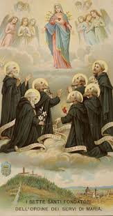 Rezultat iskanja slik za sette santi fondatori dell ordine dei servi di maria
