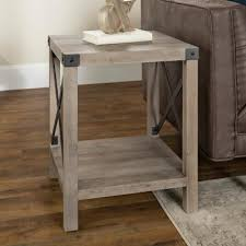 farmhouse end tables accent tables