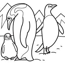 Pinguin Kleurplaten01 Topkleurplaat Nl