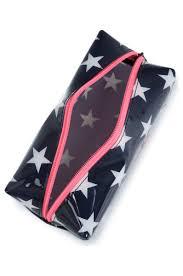 makeup bag super jelly superdry navy