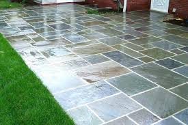 outside patio floor ideas paint designs