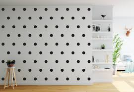 70 Black 3 Cm Polka Dots Spots Wall Art Stickers Decals Ramutes On Artfire