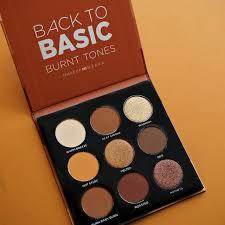 basic eyeshadow palette burnt tones