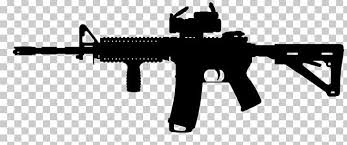 Decal Ar 15 Style Rifle Sticker Firearm Colt Ar 15 Png Clipart Assault Rifle Colt Ar