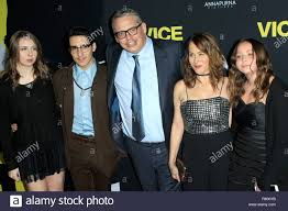Adam McKay, family at arrivals for VICE Premiere, Samuel Goldwyn ...