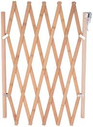 Amazon Com Hoomall Retractable Gate Expanding Fence Wooden Screen Door Gates Doorways Portable Dog Pet Gate Pet Safety Patio Garden Lawn Hoomall Home Kitchen