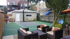 The Chicago Real Estate Local We Built A Chicago Backyard Basketball Court With Power Court