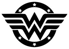 Wonder Woman Logo Decal Etsy