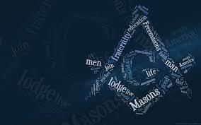 freemason typography wallpaper fossil