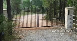 An Iron Driveway Gate Testimonial From Texas Iron Fence Shop Blog