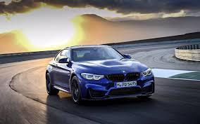 تحميل خلفيات Bmw M4 Cs 2018 الجديد M4 الأزرق Bmw سيارة رياضية
