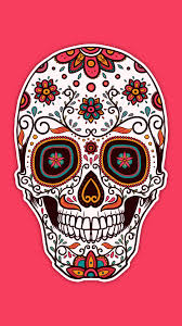 63 pink skull wallpapers on wallpaperplay