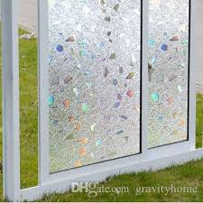 3d Static Cling Removable Window Film Translucent Glass Crystal Flower Glass Sticker Bathroom Slide Door 45x200cm Custom Car Window Clings Custom Car Window Decal From Gravityhome 29 33 Dhgate Com