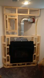 how to frame a fireplace fireplace