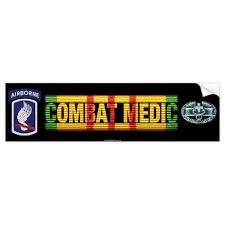 173rd Airborne Bde Vietnam Combat Medic Sticker Zazzle Com