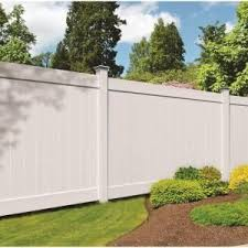 Veranda Linden 6 Ft H X 8 Ft W White Vinyl Pro Privacy Fence Panel 73013028 At The Home Depot Mobile Privacy Fence Panels Fence Panels Vinyl Fence Panels
