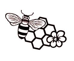 Amazon Com Custom Bee Honeycomb Vinyl Decal Honey Bee Bumper Sticker For Tumblers Laptops Car Windows Style 1 Handmade