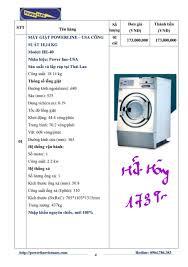 Giá bán máy giặt sấy là công nghiệp Mỹ - Báo giá Tháng 11-2018
