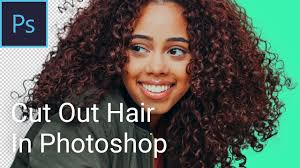 background from hair in photo