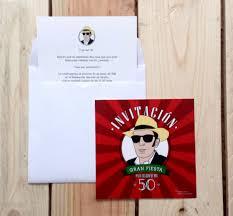 La Invitacion Del 50 Cumpleanos De Jano Nos Vamos De Fiestaaaa