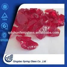glass stones for garden decoration