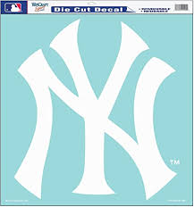 Amazon Com Mlb New York Yankees 18 By 18 Die Cut Decal Sports Fan Decals Sports Outdoors