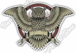 Owl Illuminati Freemasonry Masons Masonic Car Bumper Vinyl Sticker Decal 5 X4 For Sale Online Ebay