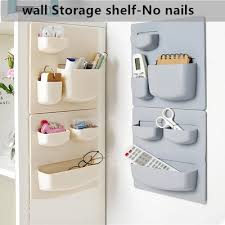 wall shelf bathroom wall storage rack
