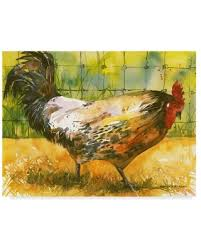 Check Out Some Sweet Savings On Annelein Beukenkamp Chicken Fence Canvas Art