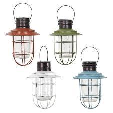 solar hanging lantern assorted colors