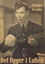 It's in the Air George Formby Polly Ward Jack Hobbs 1938 Danish Movie  Program | eBay