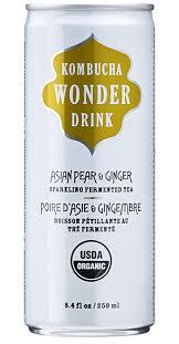 kombucha wonder drink asian pear ginger