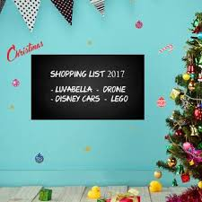 The Holiday Aisle Blackboard Merry Christmas Wall Decal Wayfair
