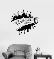 Vinyl Decal Cleaning Service Housekeeping Decor Cleaner Wall Stickers Unique Gift Ig2678 Cleaning Service Logo Cleaning Walls Cleaning Car Upholstery