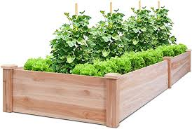giantex raised garden bed planter