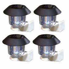 Solar Lights For Round Fence Posts Solar Lights Fence Post Post Lighting