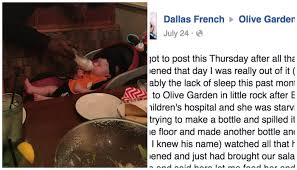 waiter feeding exhausted mom s baby