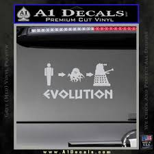 Doctor Who Dalek Evolution Decal Sticker A1 Decals