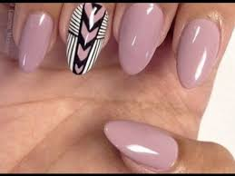 oval nail designs you