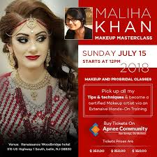 makeup mastercl by maliha khan in