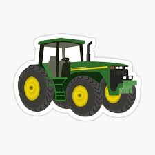 Tractor Stickers Redbubble