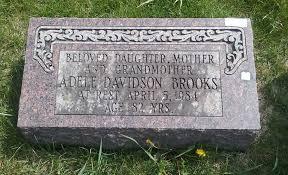Adele Davidson Brooks (Unknown-1984) - Find A Grave Memorial