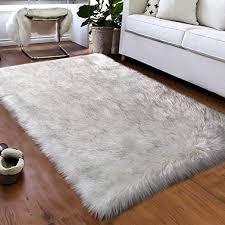 softlife faux fur sheepskin area rugs