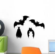 Halloween Bats Wall Decal Sticker Set Wallmonkeys Com