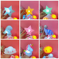 Children Gift Moon Shaped Night Lights Kids Bedroom Decoration Sun Star Warm Light Night Lamps Unicorn Dinosaur Night Lights Dh1067 2 T03 Home Accessories Shop Online Home Accessory From Besgo 7 03 Dhgate Com
