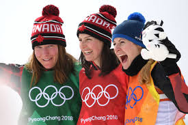 Kelsey Serwa, Brittany Phelan, Fanny Smith - Brittany Phelan and ...